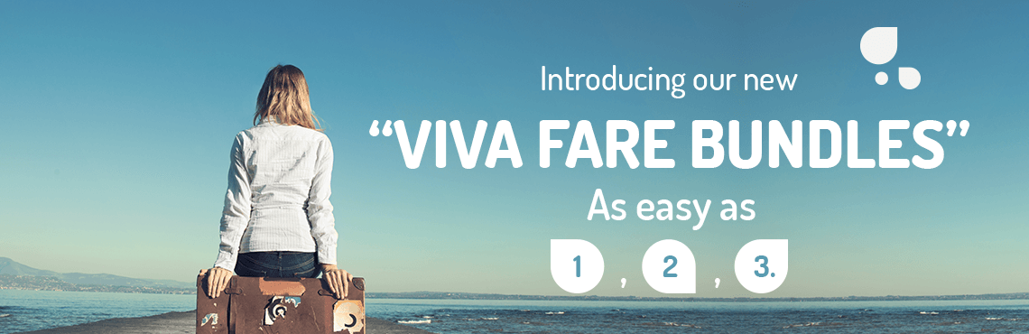 Introducing our new Viva Fare Bundles